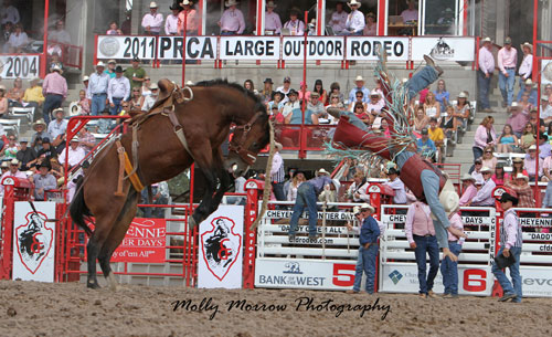 Spencer Wright at Cheyenne Frontier Days
