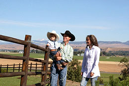 Brazile family in Cowboys & Indians